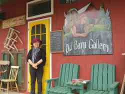 Carol Rivoire at the Old Barn Gallery