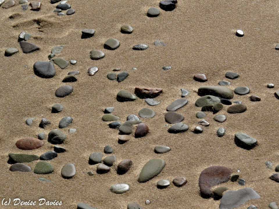 Beach stones, Inverness Beach