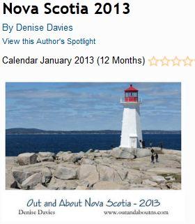 Out and About Nova Scotia Calendar 2013