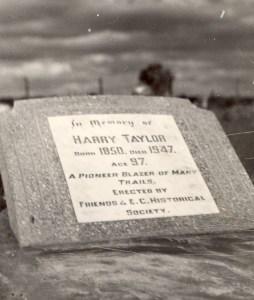 Harry Taylor - Leonora Cemetery