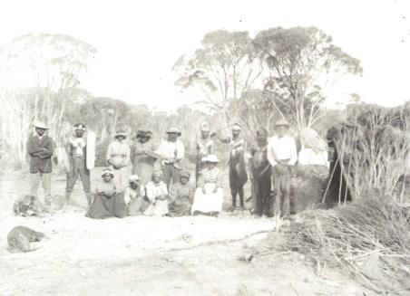 Aboriginal Camp Souther Cross 1909