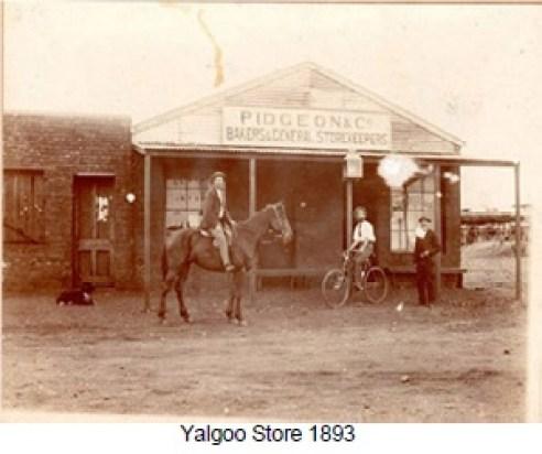 Yalgoo Store 1893, Pidgeon and Co