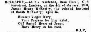 mckeefry Western Mail 14 February 1903