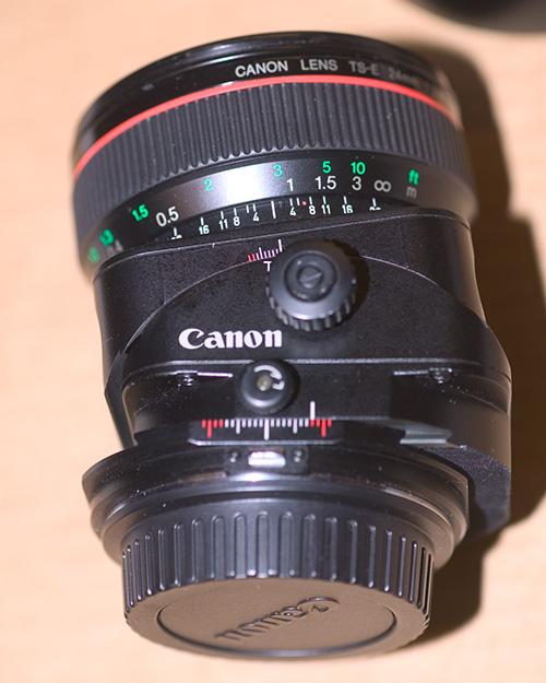 Canon 24mm TS-E
