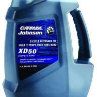 Evinrude Johnson 0764354 E-Tec XD 50 2-Cycle Outboard Motor Oil