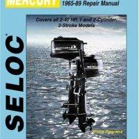 Seloc Mercury Outboards, Repair Manual, 1965-89  (Seloc Publications Marine Manuals )
