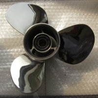Stainless Steel Propeller 11 1/8X13-G for Yamaha Mercury Honda Suzuki 40HP-50HP Outboard Motor