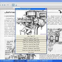 Johnson Outboard Motor Service Repair Manual 1922-64