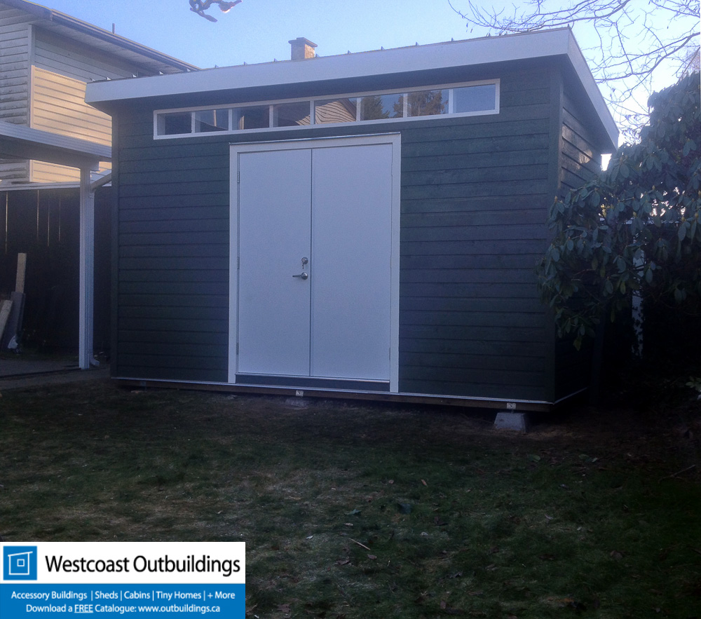 6x14 Contemporary Garden Shed Westcoast Outbuildings