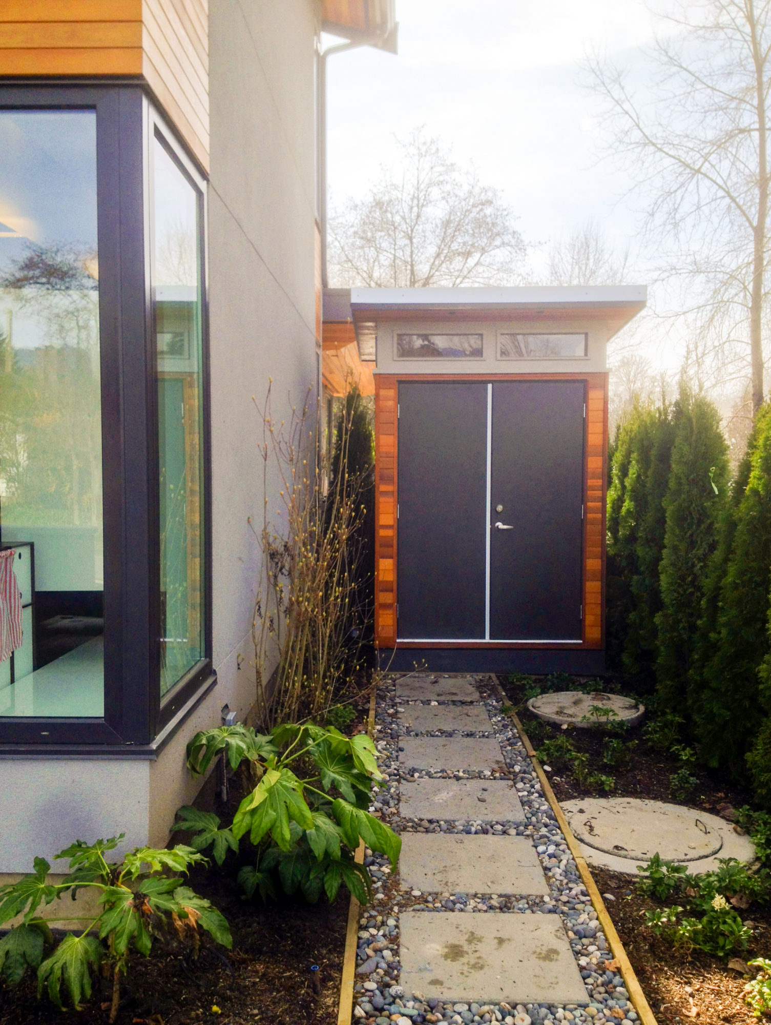 modern shed vancouver