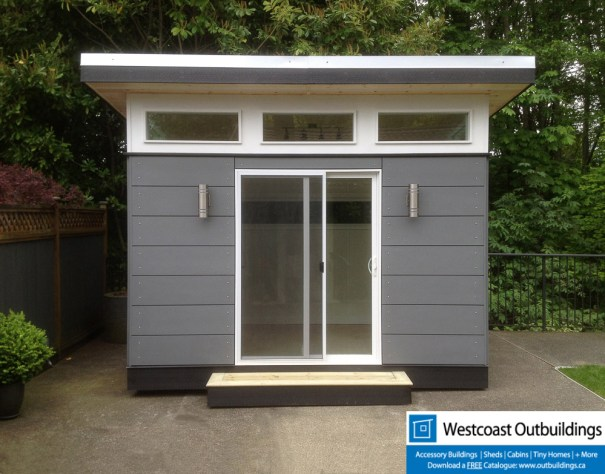 8x12 Lifestlye Outbuilding Modular Backyard Office