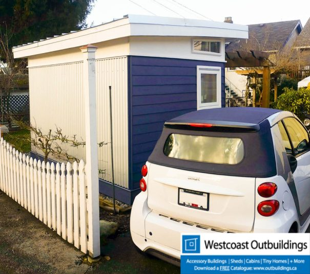East Vancouver Modular Backyard Office