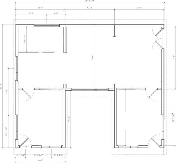 Salt Spring Island Modular Cabin Floorplan