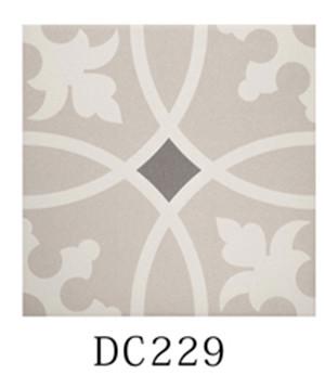 non slip decorative ceramic tile 8 5mm thickness interior floor tiles