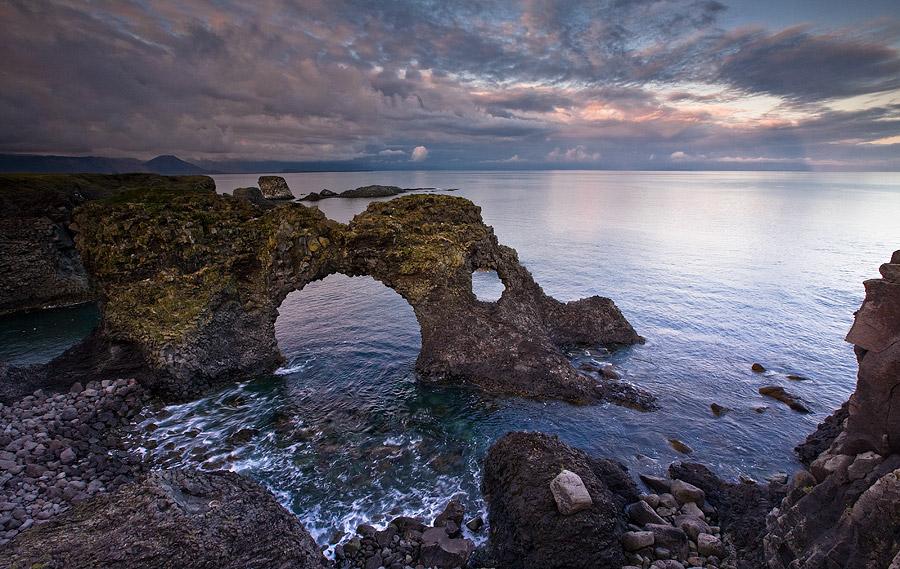 Sea rocks   sky, clouds, sea, rocks