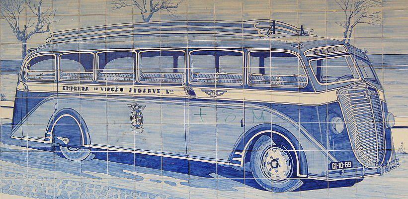 old bus algarve portugal