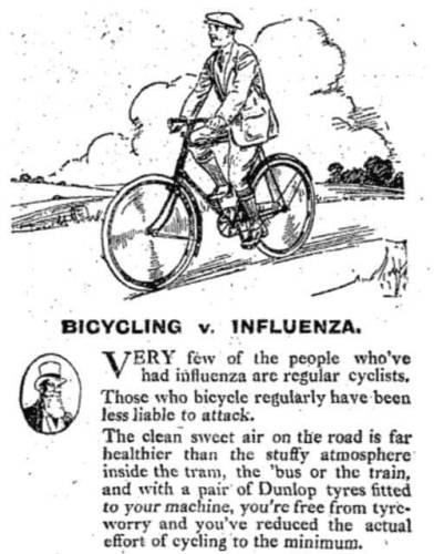 Política de coronavírus por atividade de andar de bicicleta