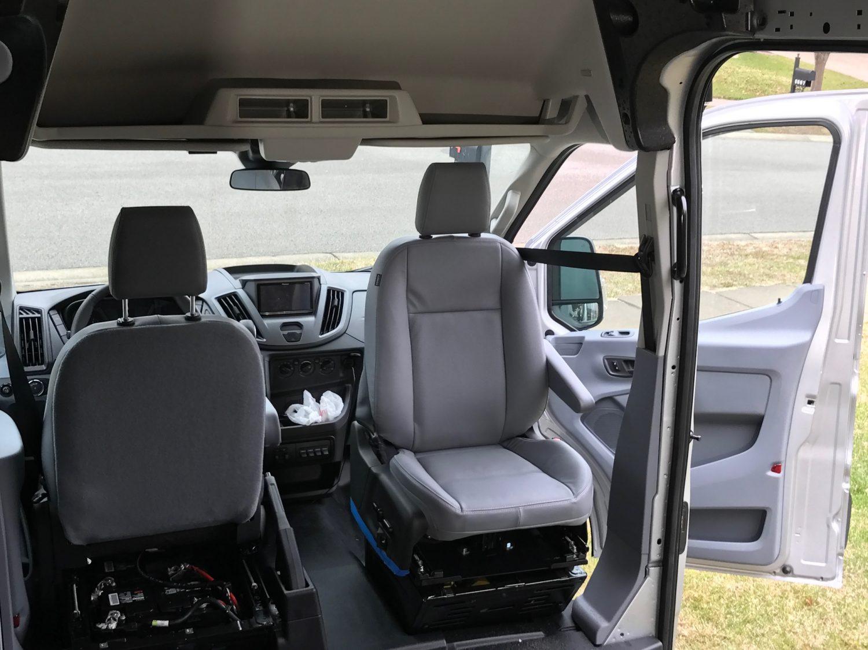 single passenger seat transit van)