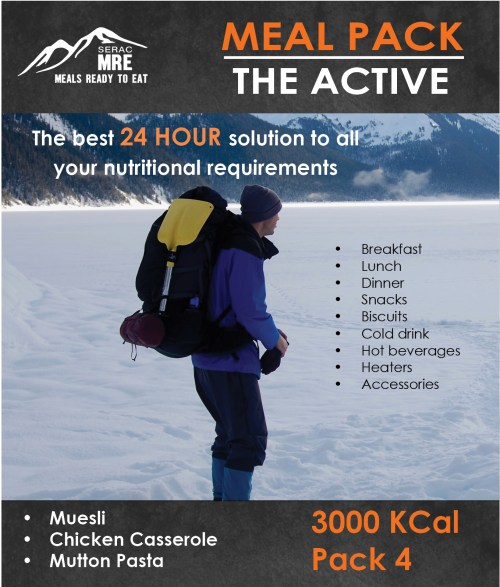 The Active - Pack 4
