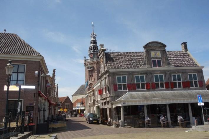 Waag en speeltoren in Monnickendam. Foto: Bert Sitters