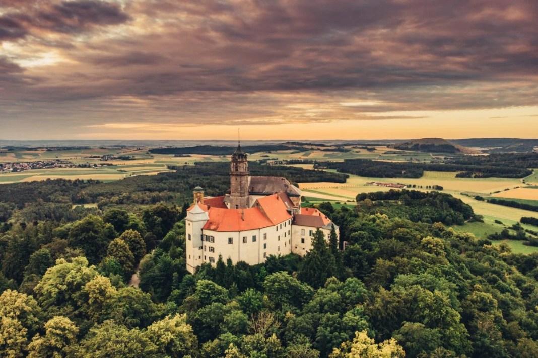 Slot Baldern. Foto: Tourismus Ostalb
