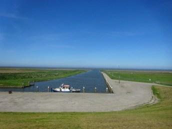 De kleinste zeehaven van Nederland bij vloed