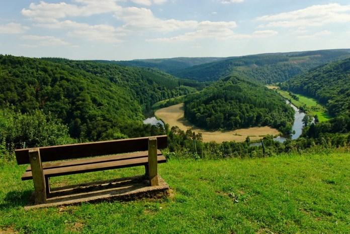 Le Tombeau du Géant is een prachtig panorama in de Ardennen. Copyright: WBT - JP Remy
