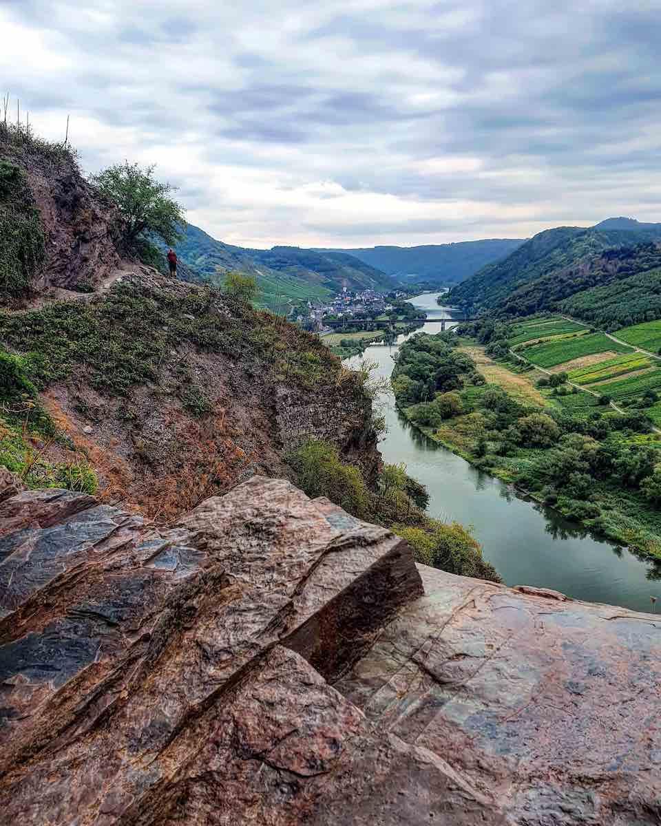 We vergeten niet te genieten van het uitzicht. Foto: Herman van Alfen