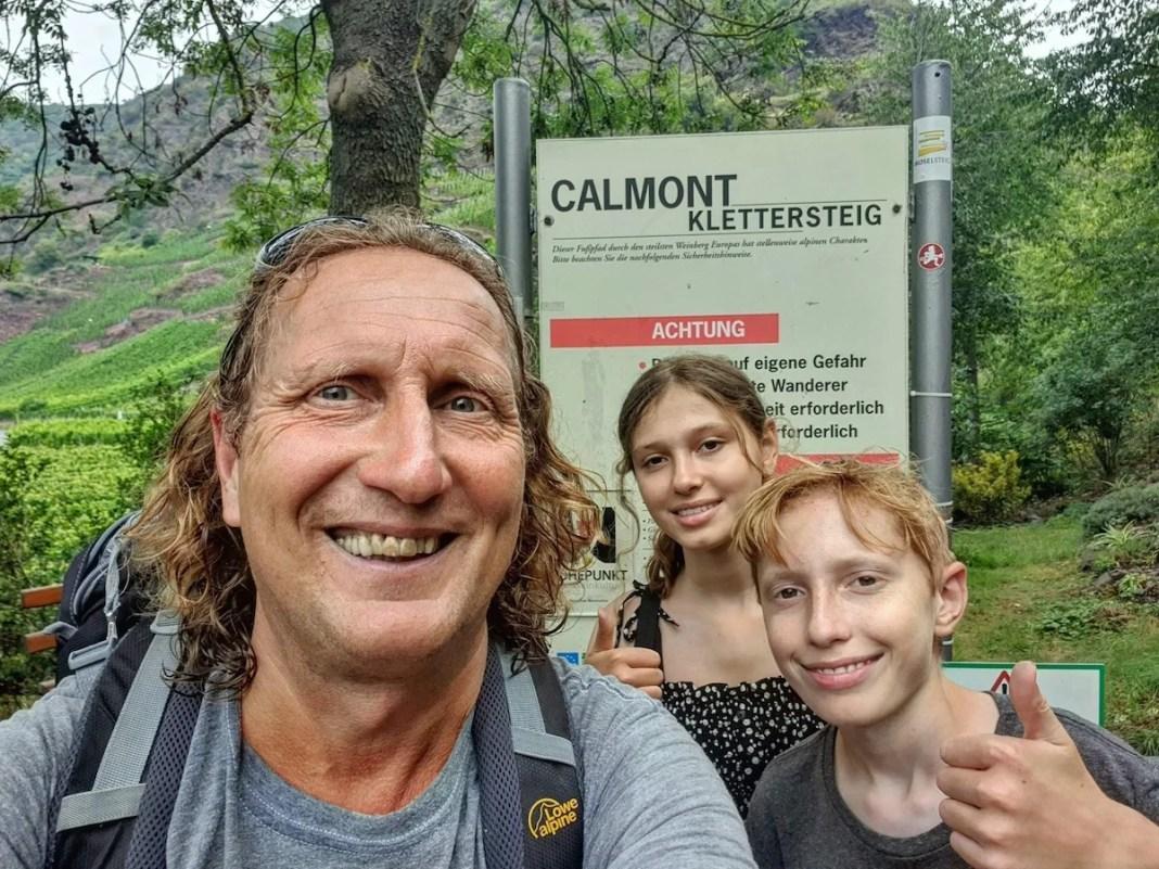 De Calmont Klettersteig is goedgekeurd. Foto: Herman van Alfen