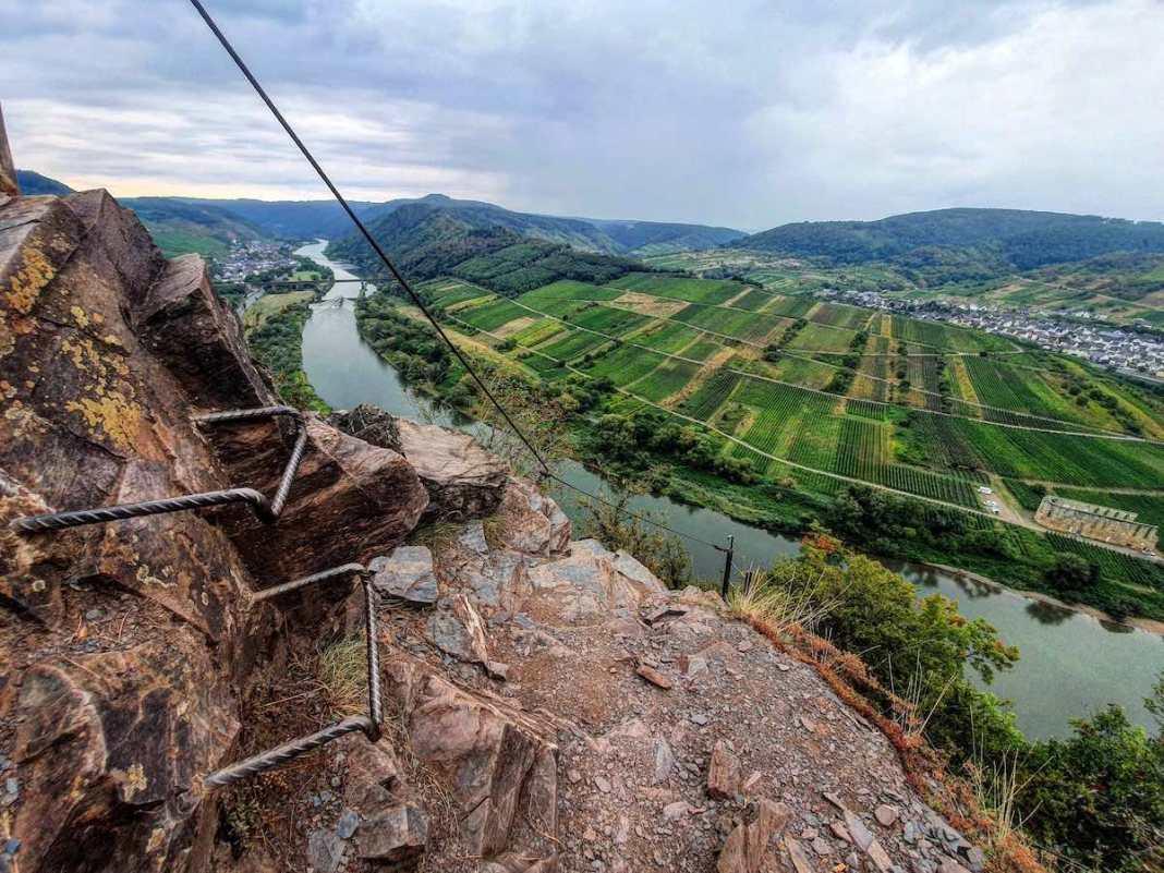 Prachtig uitzicht! Foto Herman van Alfen