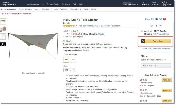 amazon.comアメリカ米国アマゾン購入方法1
