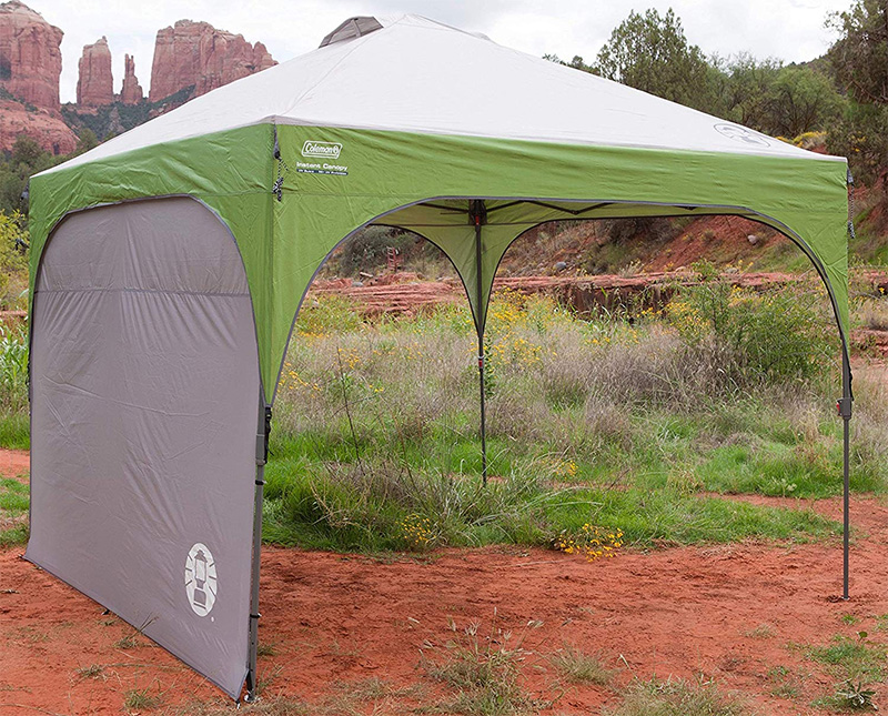 Coleman Instant Canopy with Sunwall Review