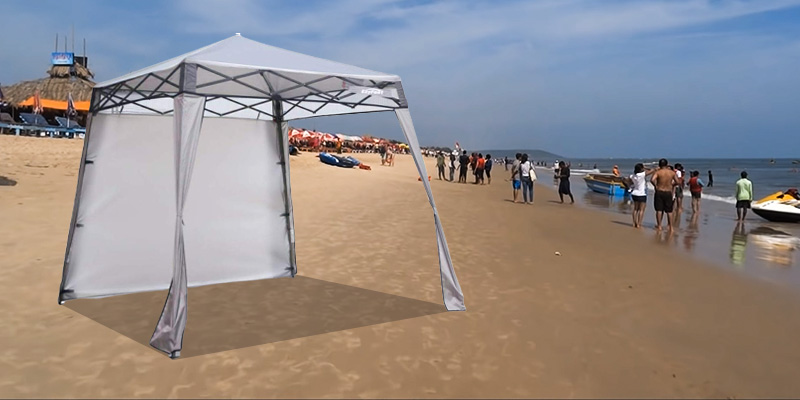EzyFast Elegant Pop Up Beach Shelter Review