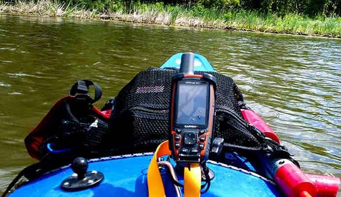 Kayak Gps tracker