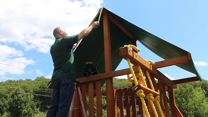 Measuring Two-Tier Canopies 1