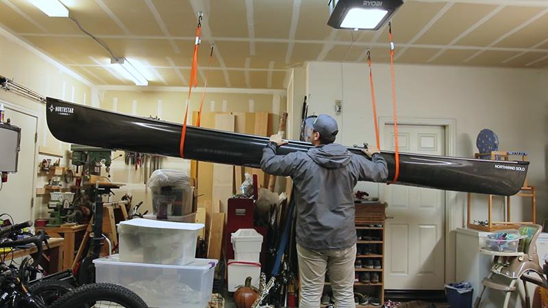 Hanging Kayak From Ceiling Fi