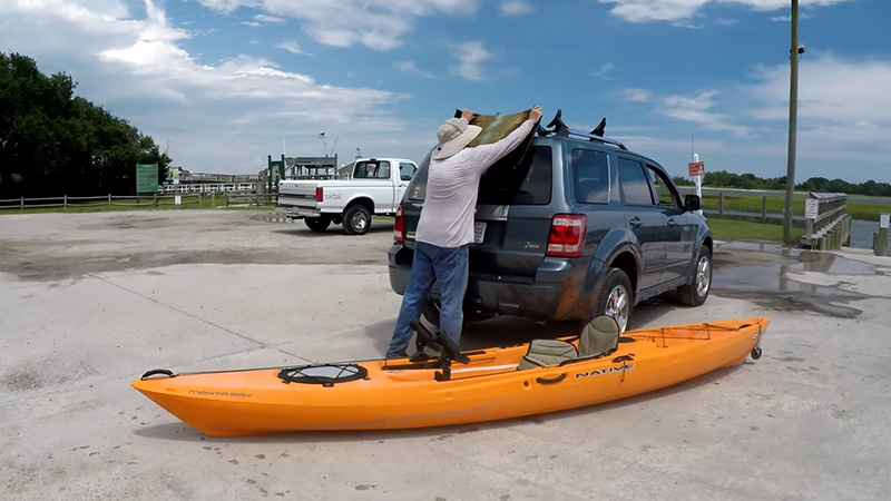 Loading A Kayak Onto An SUV Without Scratching
