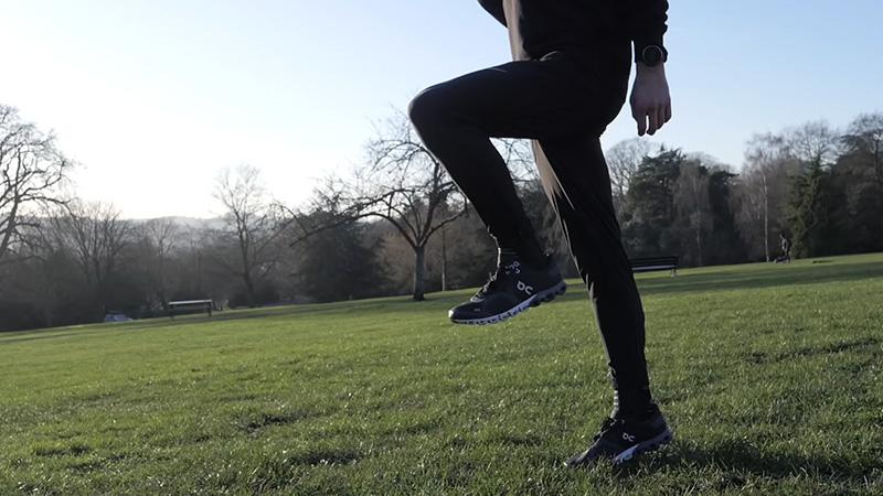 Practice the proper running techniques