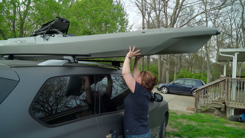 What Happens When I Don't Have A Kayak Cradle