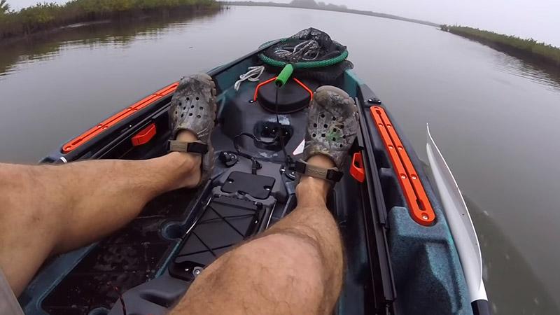 Kayak Fishing With Motor FI