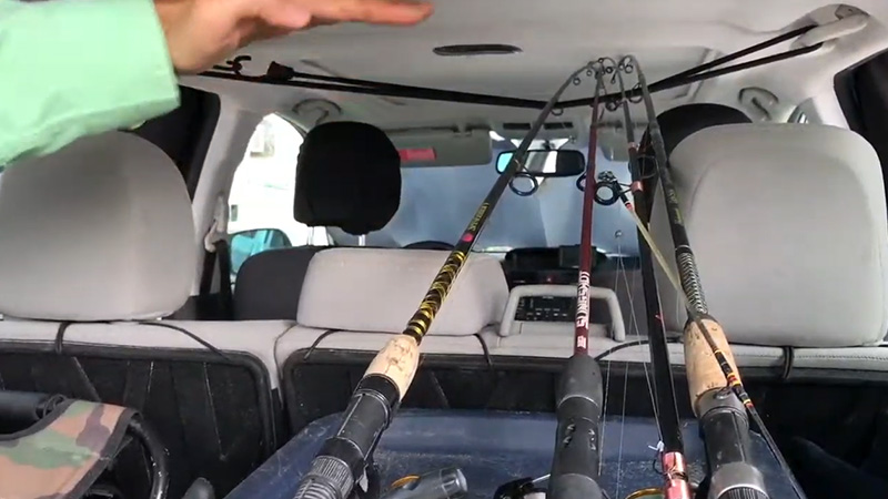 How To Make A Fishing Rod Carrier