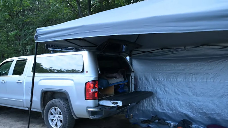 The Ultimate Truck Camping Setup Guide FI