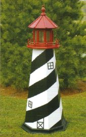 Outdoor Home Center Lawn Decor Lighthouses
