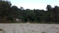 An anti-poaching camp