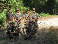 Forest watchers on duty