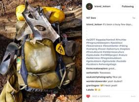 "Leland ""Woodsy"" Kolson documenting his time so far on the Appalachian Trail."