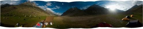 Base camp of Torro Peak