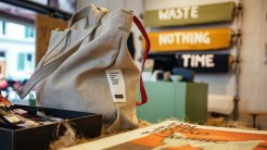 Photo: Freitag FABRIC a swiss brand, prducing biodegradable clothing from Hemp, flax and modal. By Maren Krings