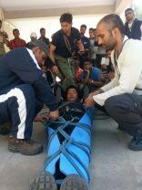 Improvising stretchers