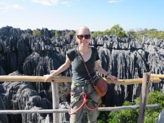 Madagascar. The Tsingy